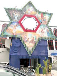 Sport meet house decoration