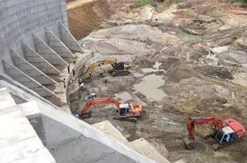 Sundayobserver.lk: Features   Deduru Oya Reservoir Project commissioning, a  landmark event
